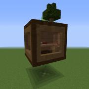 Levitating Cube House