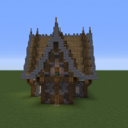 Medieval 2-Storey House
