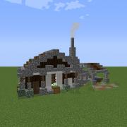 Medieval Blacksmith Homestad