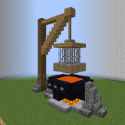 Medieval Community Execution Cage
