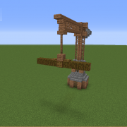 Wooden Crane