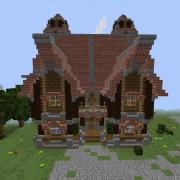 Medieval Island Village House 2