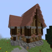 Medieval Island Village Small House 3