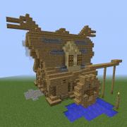 Medieval Nordic Watermill