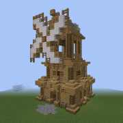 Medieval Nordic Windmill