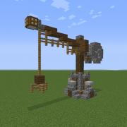 Medieval Rural Crane