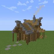 Medieval Rural House 3