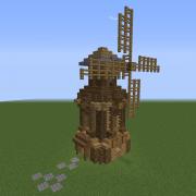 Medieval Rural Windmill