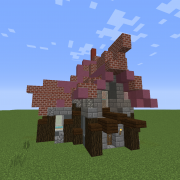 Medieval Steampunk House 4