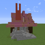 Medieval Steampunk House 5