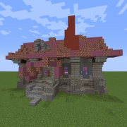 Medieval Steampunk House 6