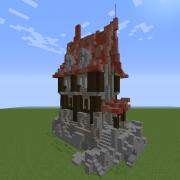 Medieval Steampunk Rich House