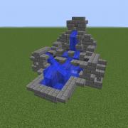 Medieval Stone Fountain 3