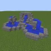 Medieval Stone Fountain 4