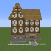 Medieval Town Unfurnished House 12