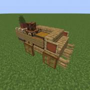 Medieval Trader Wagon