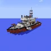 Medium Fire Department Boat