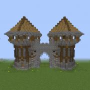 Middle Ages City Gates