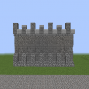 Middle Ages City Wall