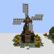 Middle Ages Windmill