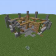 Modern Building Ruin 3
