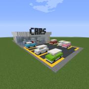 Modern Car Dealership