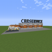 Modern Car Service Center