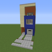 Search Rowhouse Blueprints For Minecraft Houses Castles Towers And More Grabcraft