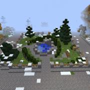 Nordic Village Park Fountain