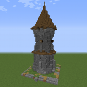 Old Medieval Tower 1