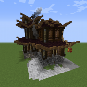 Oriental Steampunk House 10