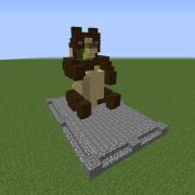 Panda with Bamboo