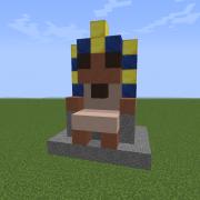 Pharao Statue