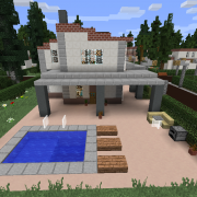 Quartz Suburban House with Pool