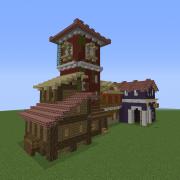 Ragnar's Medieval Town Houses