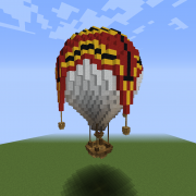 Red Hot Air Balloon