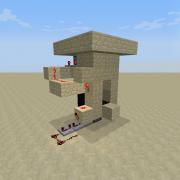 Redstone Piston Door 3