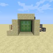 Redstone Piston Door 6