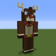 Rudolph Statue