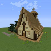 Rustic Medieval Church