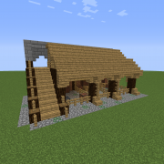Rustic Medieval Stable
