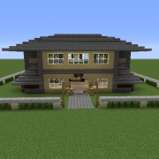 Search Mansion Blueprints For Minecraft Houses Castles