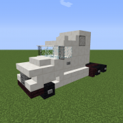 Semi Trailer Truck with Cab