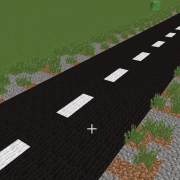 Simple Continuous Asphalt Road