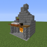 Search Fireplace Blueprints For Minecraft Houses Castles Towers And More Grabcraft