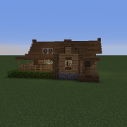 Search Wooden Cabin Blueprints For Minecraft Houses Castles Towers And More Grabcraft