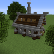 Simple Survival House Blueprints For Minecraft Houses Castles
