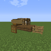 Simple Wooden Cart