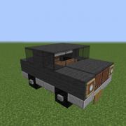 Small Black Family Car 2