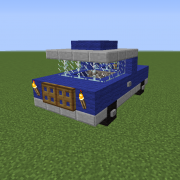 Small Blue Pickup